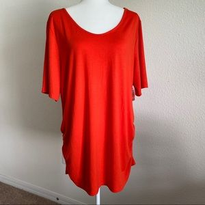 Old navy scrunched side maternity top NWT